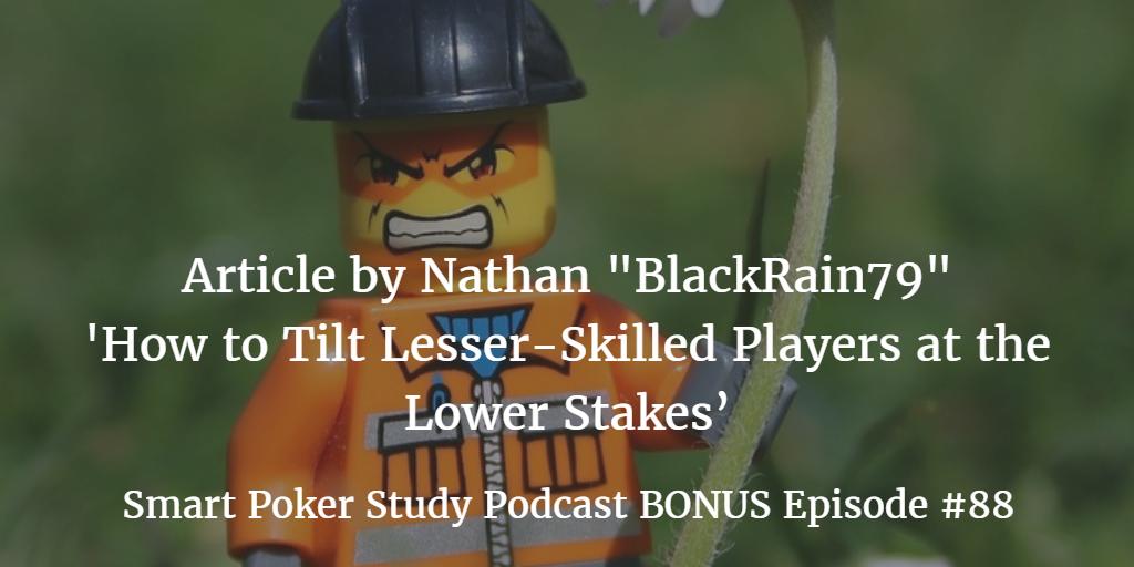 "Bonus Podcast: Nathan ""BlackRain79"" Williams Article | Podcast #078"