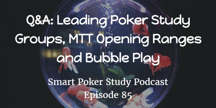 poker study