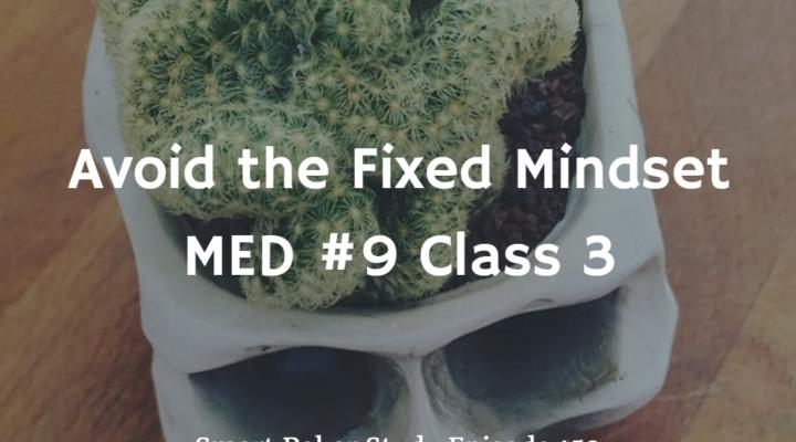 Avoid the Fixed Mindset | MED #9 Class 3 | Poker Podcast #152