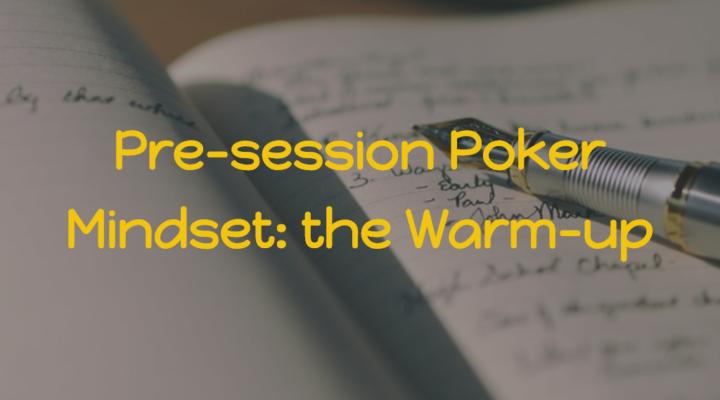 Pre-session Poker Mindset | MED #10 Class 1 | Podcast #163