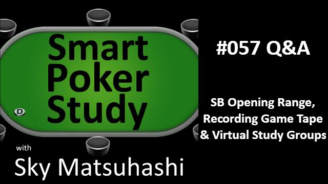 SB Opening Range, Game Tape & Virtual Study Groups | Q&A | #57