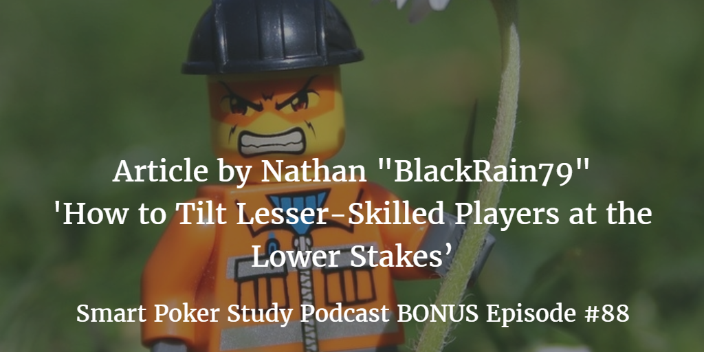 "Bonus Podcast: Nathan ""BlackRain79"" Williams Article 