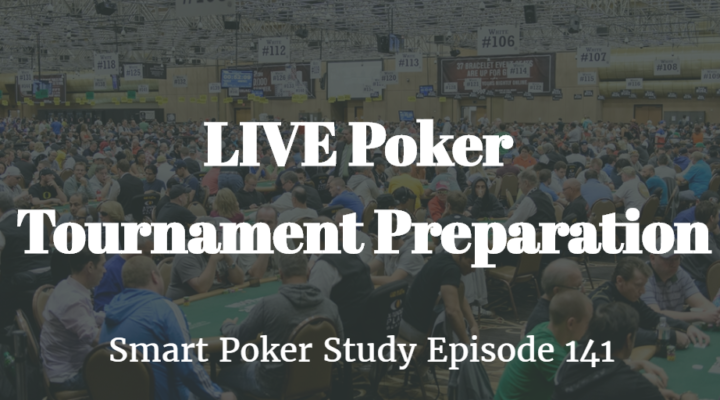 LIVE poker tournament