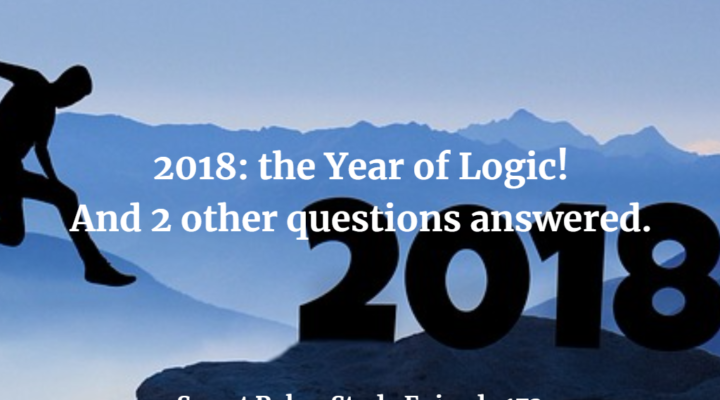 2018: the Year of Logic
