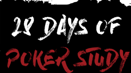 28 Days of Poker Study Challenge – Season 1