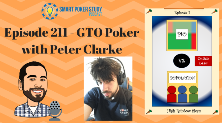 "GTO Poker with Peter ""Carroters"" Clarke 