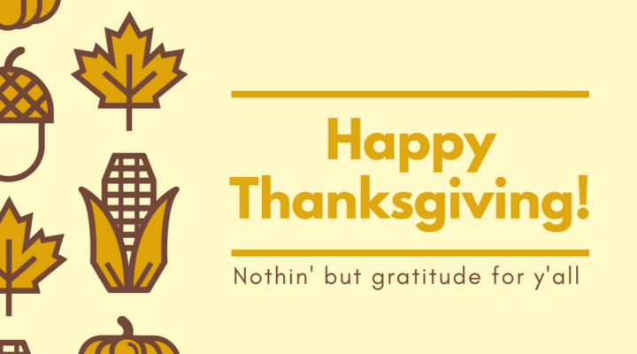 Happy Thanksgiving and Poker Gratitude in 2019