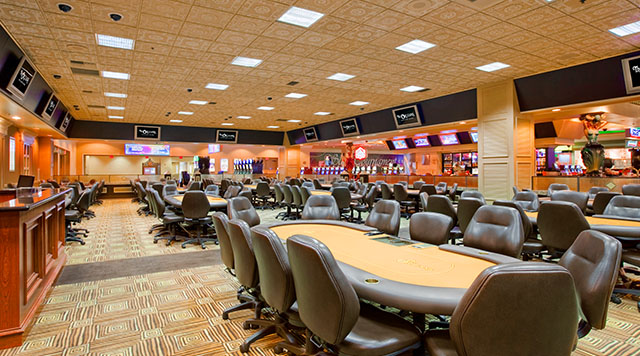 The Orleans poker room in Las Vegas