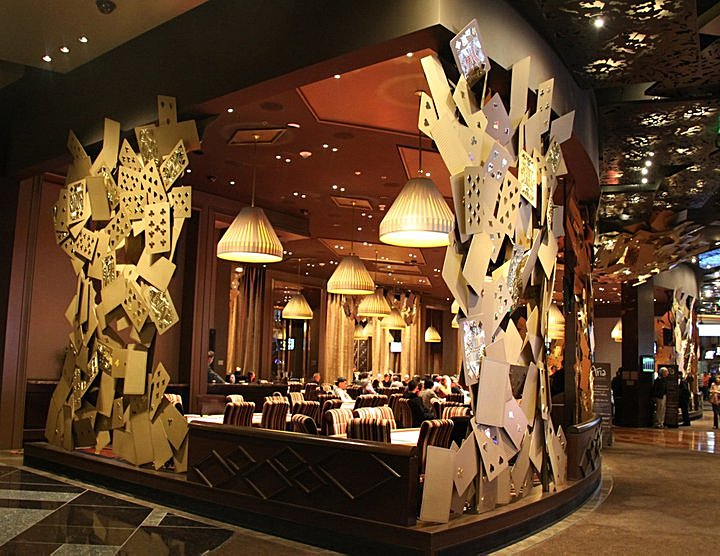 The Aria poker room in Las Vegas