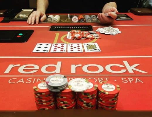 Red Rock poker in Las Vegas